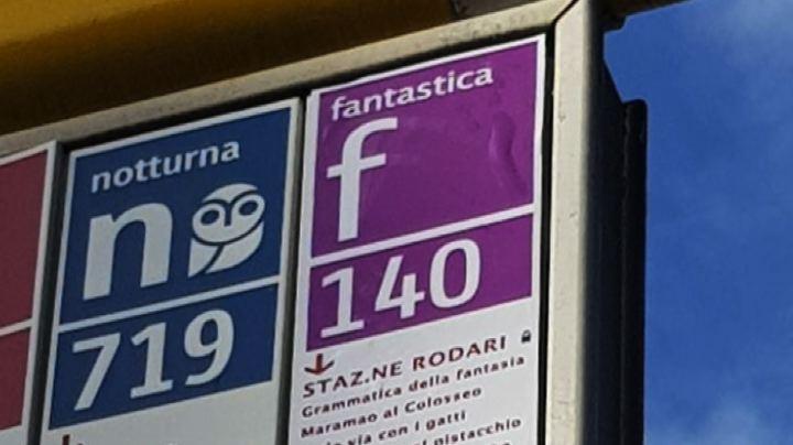 A ROMA SPUNTA LA FANTASTICA LINEA BUS DI GIANNI RODARI